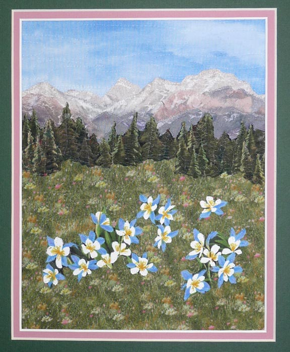 Quilts by JVC ..  .. PATTERNS - Litte Landscape Mountain ... : mountain quilts - Adamdwight.com